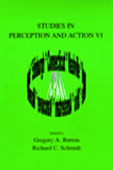 Studies in Perception and Action VI book cover