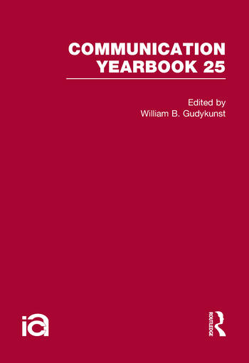 Communication Yearbook 25 book cover