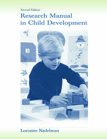 Research Manual in Child Development book cover