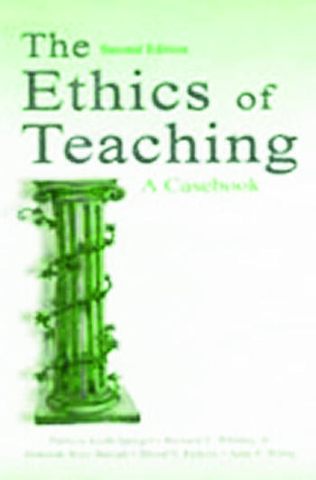 The Ethics of Teaching A Casebook book cover