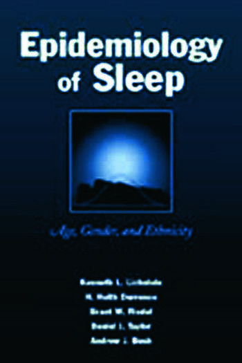 Epidemiology of Sleep Age, Gender, and Ethnicity book cover