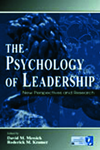 The Psychology of Leadership New Perspectives and Research book cover