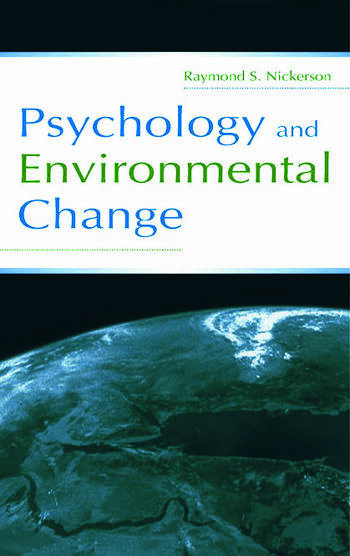 Psychology and Environmental Change book cover