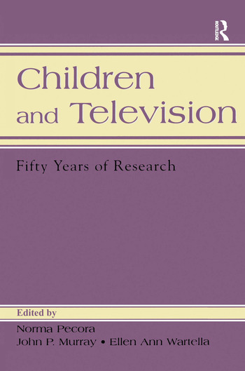 Children and Television Fifty Years of Research book cover