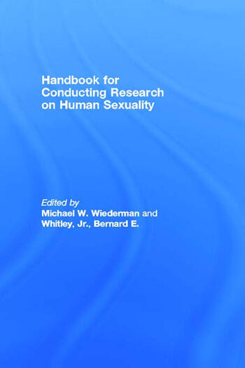 Handbook for Conducting Research on Human Sexuality book cover