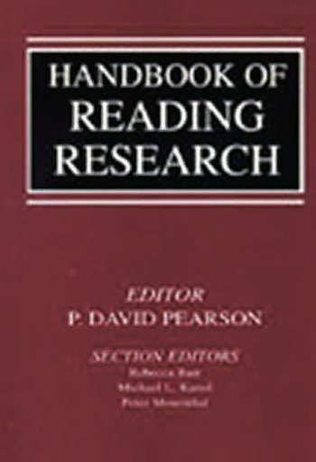 Handbook of Reading Research book cover