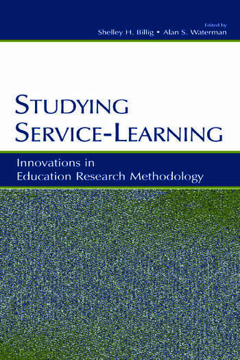 Studying Service-Learning Innovations in Education Research Methodology book cover