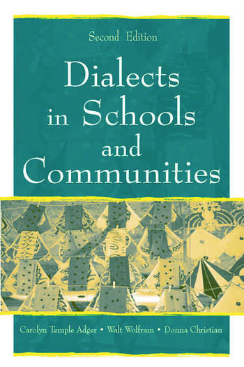Dialects in Schools and Communities book cover