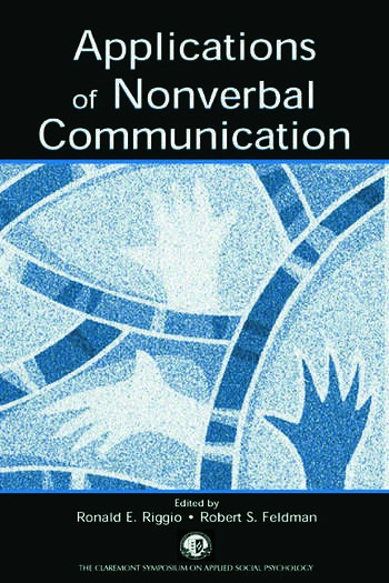 Applications of Nonverbal Communication book cover