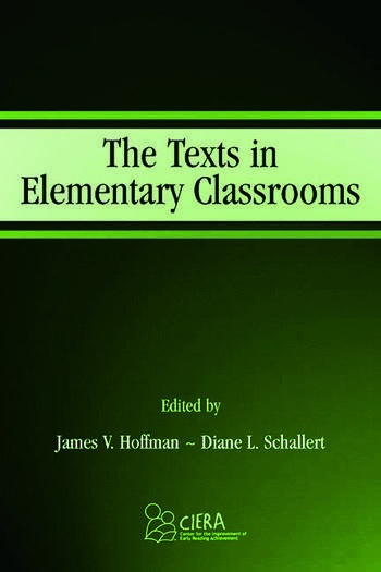 The Texts in Elementary Classrooms book cover