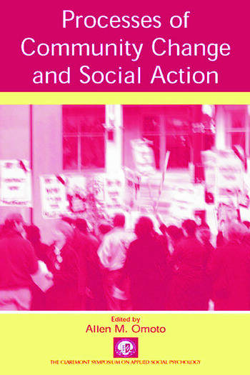 Processes of Community Change and Social Action book cover