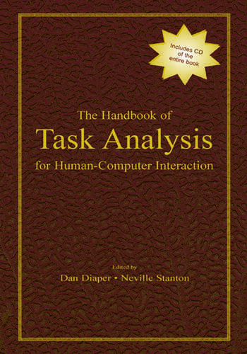 The Handbook of Task Analysis for Human-Computer Interaction book cover