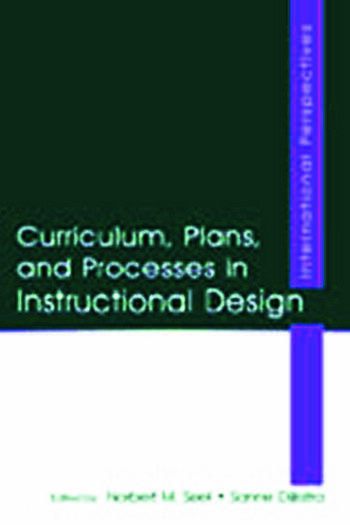 Curriculum, Plans, and Processes in Instructional Design International Perspectives book cover