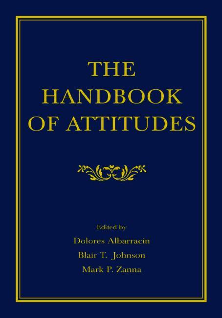 The Handbook of Attitudes book cover
