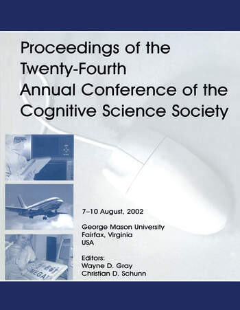 Proceedings of the Twenty-fourth Annual Conference of the Cognitive Science Society book cover