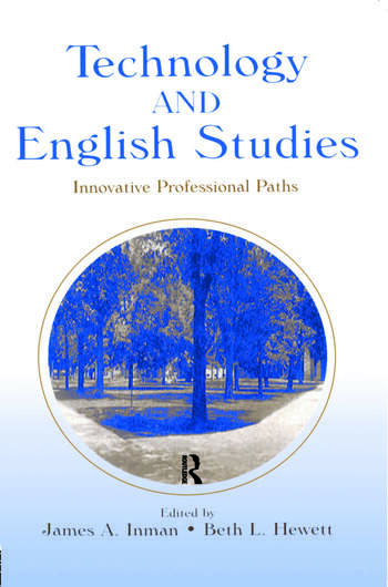 Technology and English Studies Innovative Professional Paths book cover