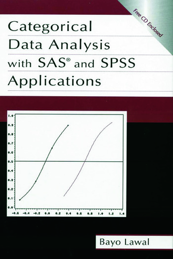 Categorical Data Analysis With Sas and Spss Applications book cover