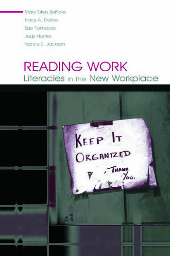 Reading Work Literacies in the New Workplace book cover