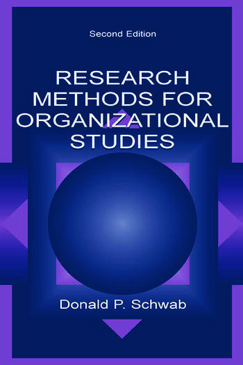 Research Methods for Organizational Studies book cover