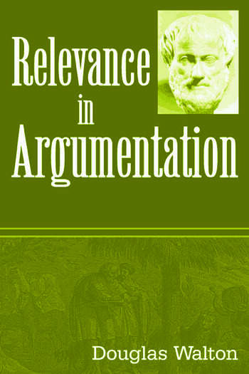 Relevance in Argumentation book cover