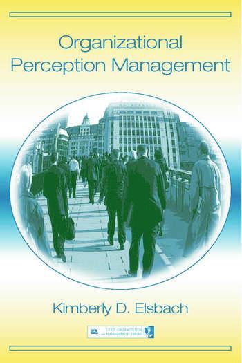 Organizational Perception Management book cover