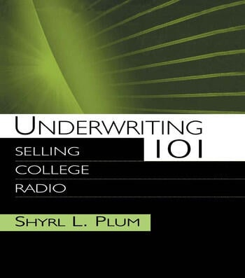 Underwriting 101 Selling College Radio book cover
