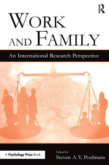 Work and Family An International Research Perspective book cover