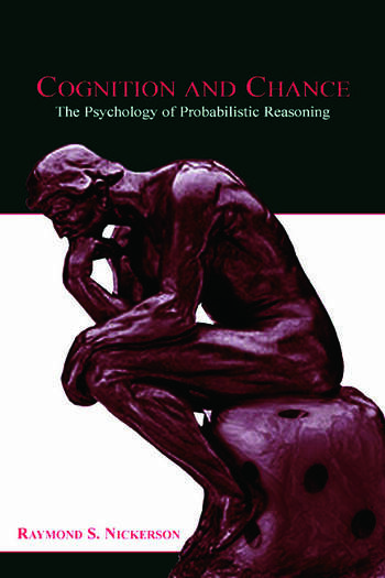 Cognition and Chance The Psychology of Probabilistic Reasoning book cover