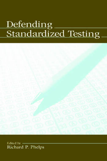 Defending Standardized Testing book cover