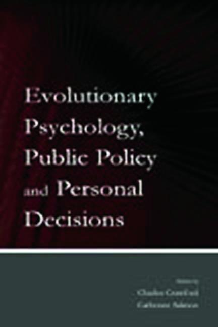 Evolutionary Psychology, Public Policy and Personal Decisions book cover
