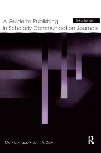 A Guide to Publishing in Scholarly Communication Journals book cover