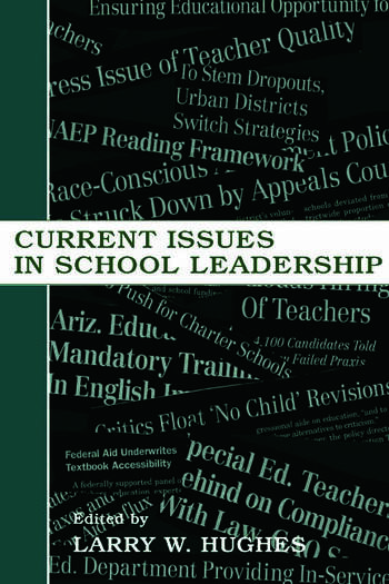 Current Issues in School Leadership book cover