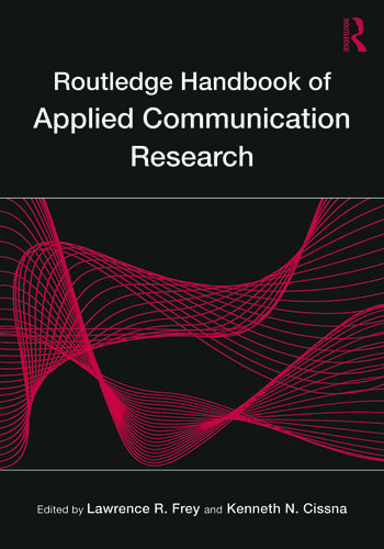 Routledge Handbook of Applied Communication Research book cover