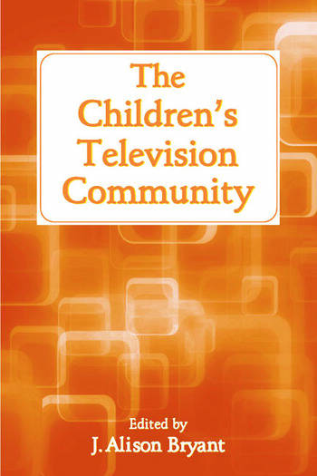 The Children's Television Community book cover
