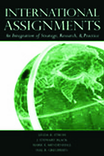 International Assignments An Integration of Strategy, Research, and Practice book cover