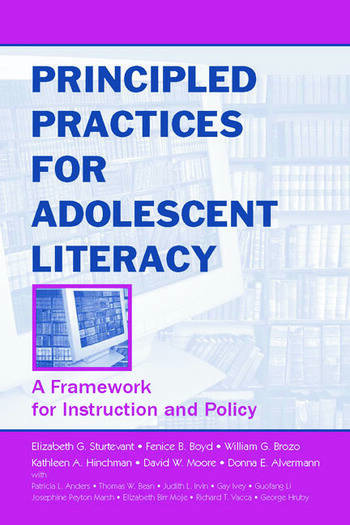 Principled Practices for Adolescent Literacy A Framework for Instruction and Policy book cover