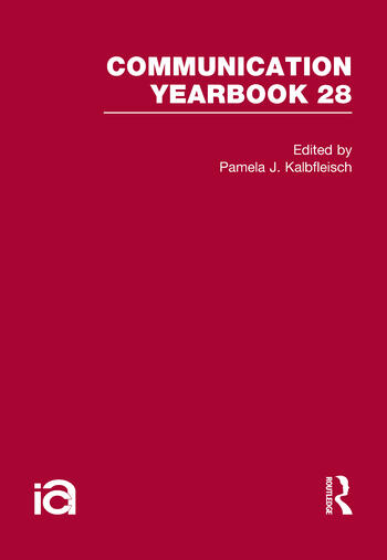 Communication Yearbook 28 book cover