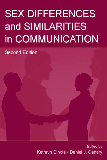 Sex Differences and Similarities in Communication book cover