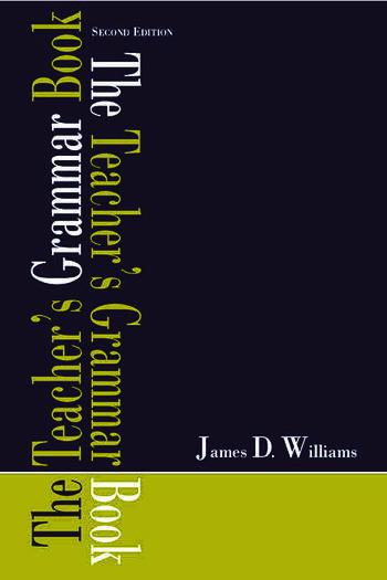 The Teacher's Grammar Book book cover