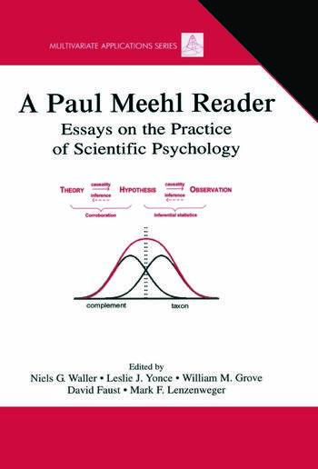 A Paul Meehl Reader Essays on the Practice of Scientific Psychology book cover
