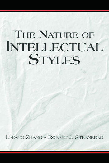 The Nature of Intellectual Styles book cover