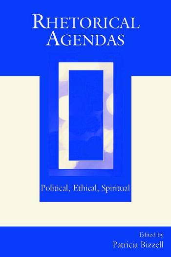 Rhetorical Agendas Political, Ethical, Spiritual book cover