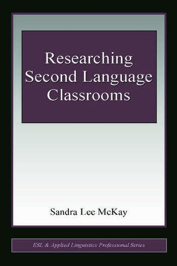 Researching Second Language Classrooms book cover