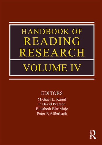 Handbook of Reading Research, Volume IV book cover