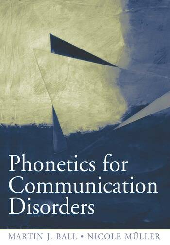 Phonetics for Communication Disorders book cover