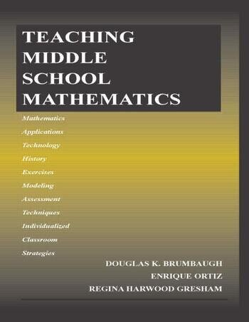 Teaching Middle School Mathematics book cover