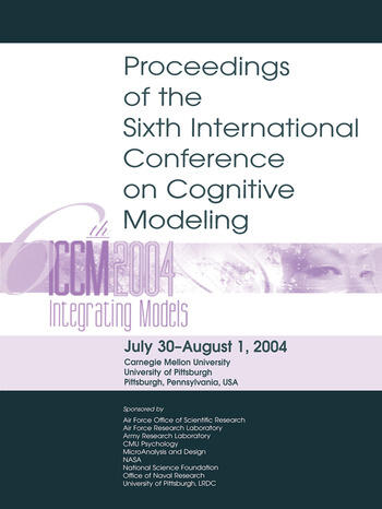 Sixth International Conference on Cognitive Modeling ICCM - 2004 book cover