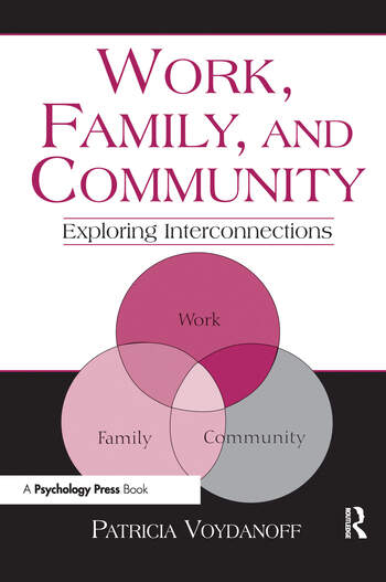 Work, Family, and Community Exploring Interconnections book cover