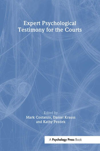 Expert Psychological Testimony for the Courts book cover