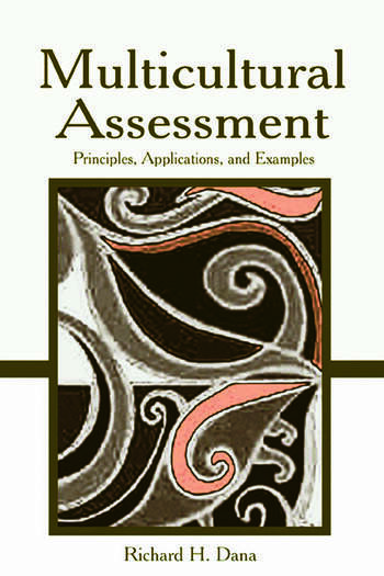 Multicultural Assessment Principles, Applications, and Examples book cover